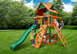 Playsets Outdoor Gorilla Chateau Tower Treehouse Playset Free Shipping