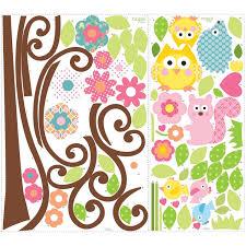 scroll tree peel u0026 stick wall decal megapack innovativestencils
