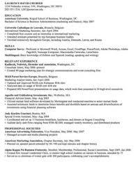 Resume English Sample by Europass Cv English Examples Http Resumesdesign Com Europass