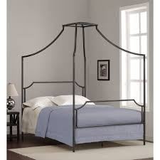 bailey charcoal full size canopy bed frame bailey full size bed