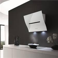 hotte de cuisine hotte de cuisine murale ophelie airone en verre blanc h27080 006