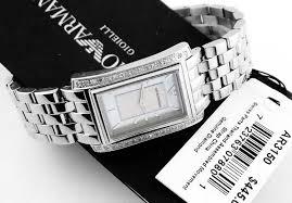 armani bracelet ladies images Latest emporio armani lady diamond bracelet watch ar3150 womens jpg