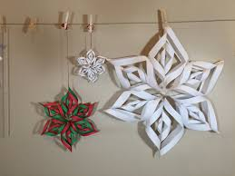 how to make 3d paper snow flakes by mr otter studio