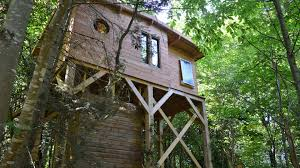 forest escapes tree houses glamping in normandy