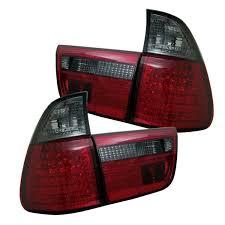Bmw X5 Red - amazon com spyder bmw e53 x5 00 06 4pcs led tail lights red