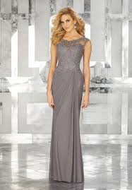 special occasion dresses stretch mesh special occasion dress with beaded lace bodice