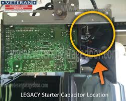 Overhead Door Legacy Owners Manual Replace The Starter Capacitor On A Garage Door Opener