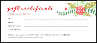 make gift cards free online gift certificate creator jukeboxprint
