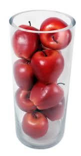 Fruit Vase Filler Kiera Grace Decorative Fruit Vase Fillers 12 Red Apples Desertcart