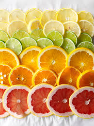 Cold Dinner Ombre Of Citrus Celebrate The Bounty With A Colorful Inspired