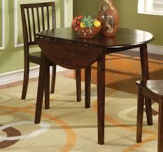 Rectangular Drop Leaf Kitchen Table by Drop Leaf Kitchen Table Sets Dark Oak Finish Solid Wood Table Top