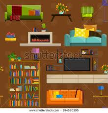desktop computer variety subjects stock vector 281571200