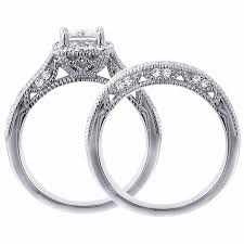 vintage wedding ring sets vintage wedding sets new cz vintage diamond rings wedding design