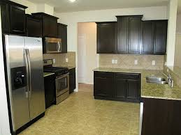 Dark Kitchen Cabinets With Light Countertops Kitchen Appliance Painted Kitchen Countertops Before After White