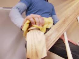 Restaining Banister How To Stain A Banister How Tos Diy