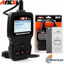 universal obdii scanner car engine fault code reader ancel ad310