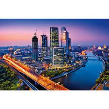 ideal decor 45 in x 69 in moscow twilight wall mural dm643 the moscow twilight wall mural