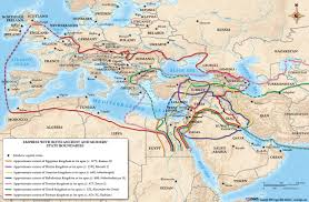Babylonian Empire Map Chronology Of Latter Prophets And Intertestamental Period