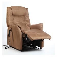 fauteuil relax releveur fauteuil relax releveur microfibre marron c rennaise