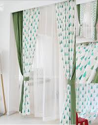 Grey And White Polka Dot Curtains And Fun Green White Polka Dots And Tree Kids Curtains