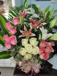 basket of flowers easy basket of flowers for delivery in dubai