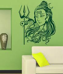 Wwe Wall Stickers Trends On Wall Shiv Ji Wall Sticker Green Buy Trends On Wall