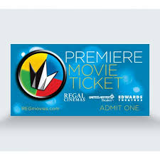 premiere movie ticket regal corporate box office