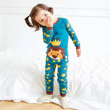 animal patchwork children pajamas clothing