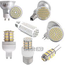 gu10 mr16 g9 e27 e14 g4 pure warm white smd led spot lights bulbs