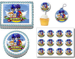 sonic the hedgehog cake toppers sonic cake topper etsy