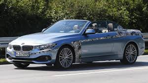 2014 bmw 4 series convertible 2014 bmw 4 series convertible spied with the top wearing