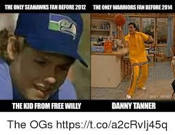 Seahawks Fan Meme - theonly seahawks fan before 2012 the only warriors fan before2014