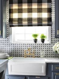 White Kitchen Curtains by Black And White Kitchen Curtains 8 Best Diy Kitchen Remodeling
