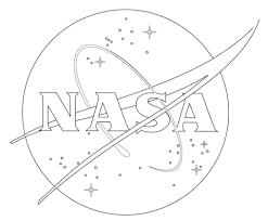 nasa logo coloring free printable coloring pages