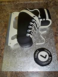 hockey skate cake for a friend u0027s skating party my cake