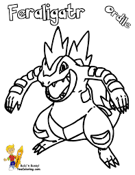pokemon coloring pages totodile big boss coloring pages to print pokemon chikorita ampharos free