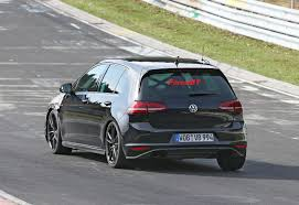 volkswagen golf gti 2014 volkswagen cars news 2014 mk7 golf r spied on the u0027ring