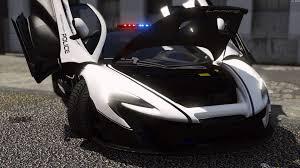 police mclaren mclaren p1 pursuit police add on replace template