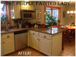 Painted Kitchen Cabinets Professionally Painted Kitchen Cabinets Before And After