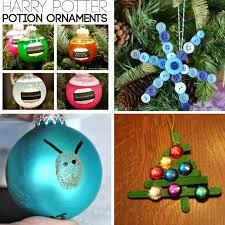 totally awesome kid made ornaments