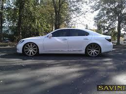 lexus ls460l tires ls savini wheels
