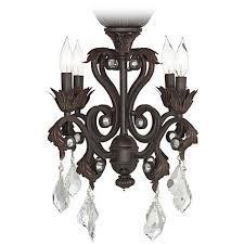 Ceiling Fan With 4 Lights by 4 Light Oil Rubbed Bronze Chandelier Ceiling Fan Light Kit