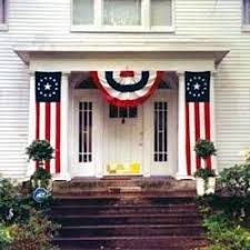 Patriotic Home Decorations 34 Best Outdoor Patriotic Images On Pinterest Red White Blue