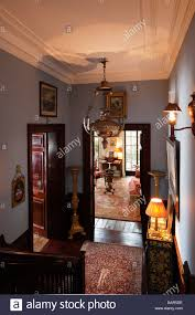 hallway interior of georgian london apartment of alvise orsini