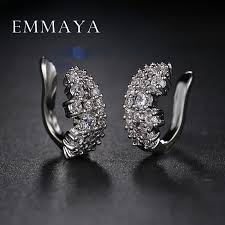 cheap clip on earrings rhinestone earrings clip promotion shop for promotional
