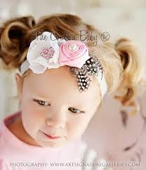 vintage headbands poshy vintage pink silver headband from the couture baby