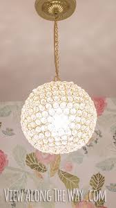 Diy Glass Bubble Chandelier Fantastic Diy Chandelier Tutorials And Ideas For Decorating On A