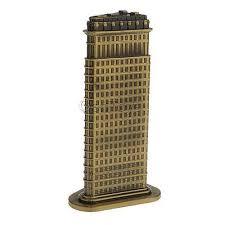 vintage empire state building new york city travel souvenir
