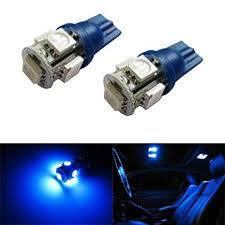 Car Interior Blue Lights Amazon Com Ijdmtoy 5 Smd 168 194 2825 T10 Led Car Interior Map