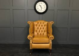 Queen Anne Wingback Chair Leather Chesterfield Wing Chairs Archives Timeless Sofas Handmade